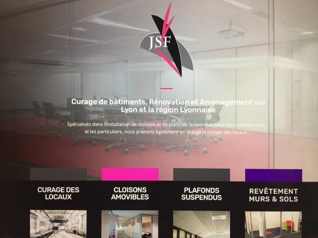 site vitrine Jsf